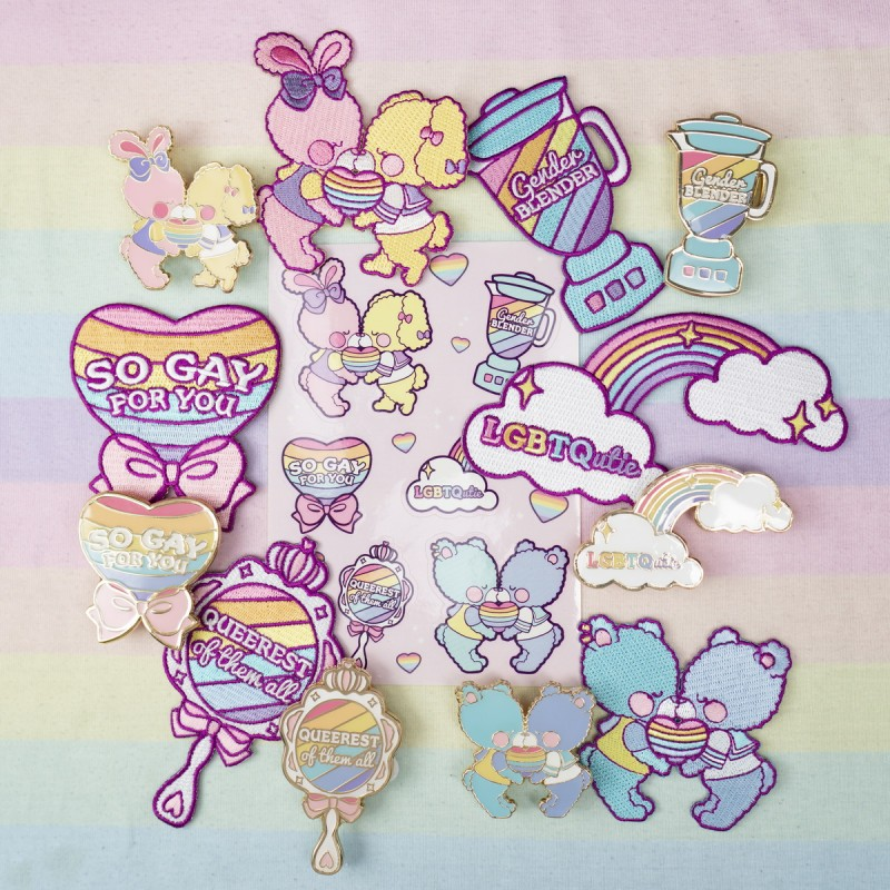 Lucky Pack Pride Collection 21 : Pins